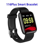 New Arrival CE ROHS 116 Plus Heart Rate Fitness Watch Smart Bracelet