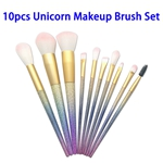 Portable Synthetic Hair Makeup Brush Set for Beauty Needs