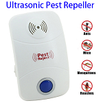 Electric Ultrasonic Mosquito Rat Pest Control Repeller with LED Light