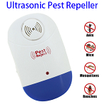 Electric Ultrasonic Mosquito Rat Pest Insect Control Repellent Repeller with LED Light