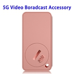 New Technology 5G Video Remote Control Music Play Wireless Phone Accessory (Pink)