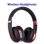 New Patent Universal Earphone Holder Headset Stand MH4 Wireless Headphones (Red)