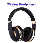 New Patent Universal Earphone Holder Headset Stand MH4 Wireless Headphones (Light Gold)
