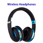 New Patent Universal Earphone Holder Headset Stand MH4 Wireless Headphones (Blue)