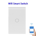 FCC ROHS Approved Wifi Smart Switch Compatible With Alexa and Google Home (One Control)